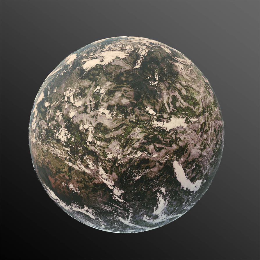 Terran Planet 01 by nzly
