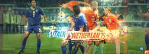 Italy vs Netherlands by GfxDreamz-v2