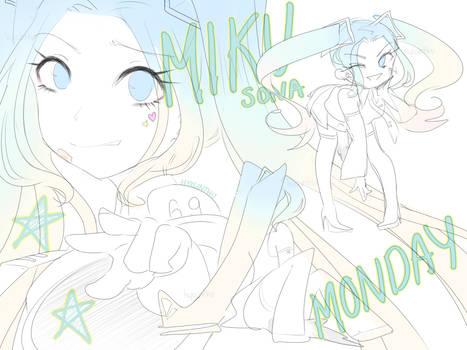 Miku-sona Monday