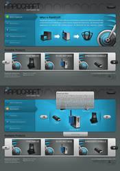 RapidCraft Interface by sinthux