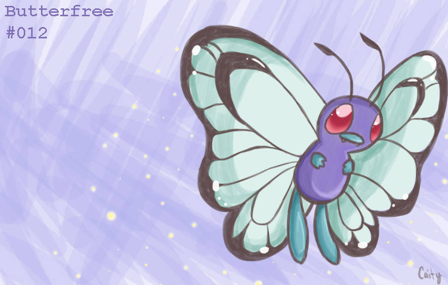Butterfree by PsychoBanana-Arts
