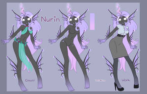 Nurin reference sheet :UPDATED: by PsychoBanana-Arts