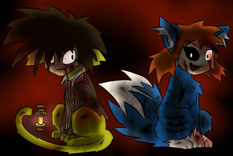 Taiora Halloween costume 2012 by Digimon-Shinka