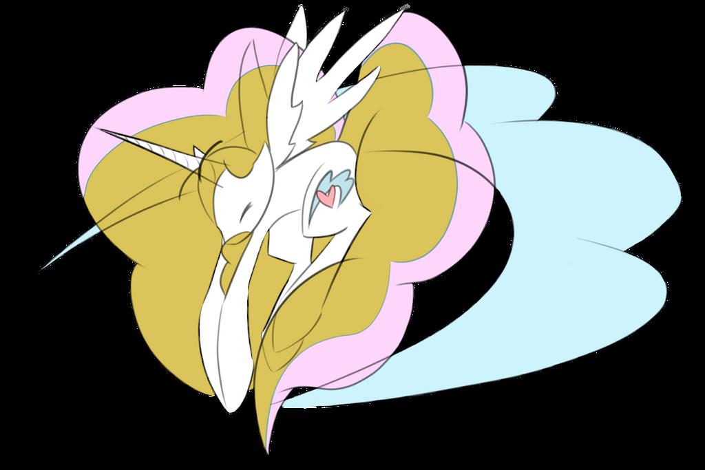 Cloudhearts [Alicorn OC] by Digimon-Shinka