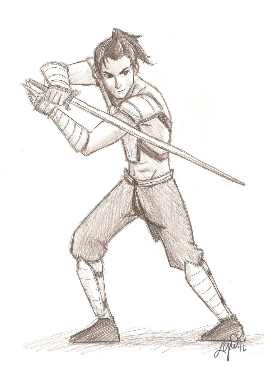 sokka of the water tribe by compoundbreadd