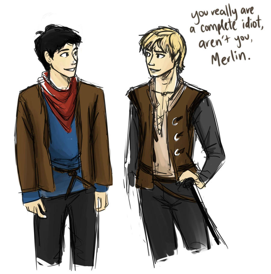 Merlin Arthur Fan Art