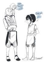 Lin loves Aang more.