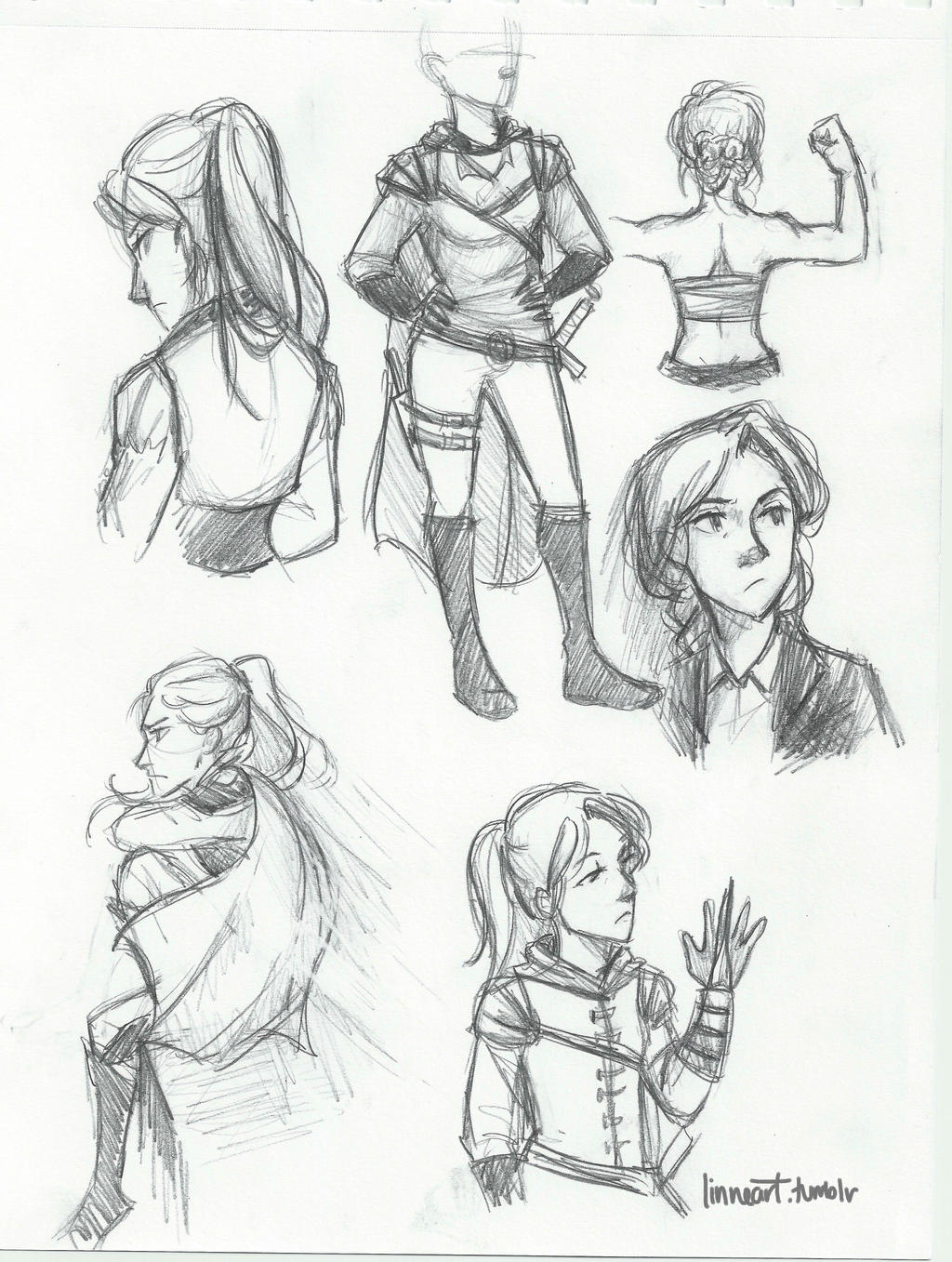 Sketchesofsam Sssh Critical Role Is: Celaena Sketch Sheet By Compoundbreadd On DeviantArt