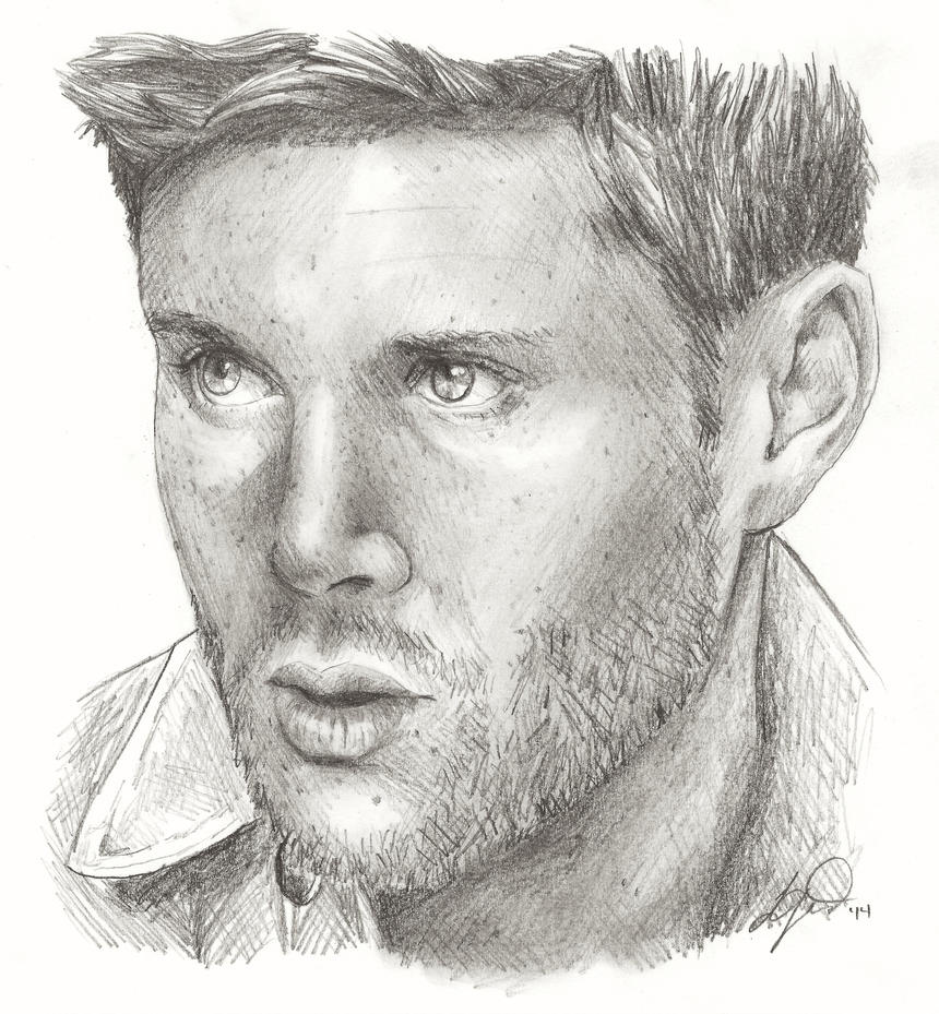 Jensen Ackles by compoundbreadd