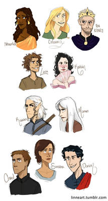 Throne of Glass Characters