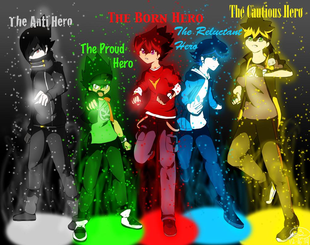 Tenkai Knights Heroes By Selene411 On Deviantart