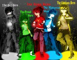 Tenkai Knights - Heroes by Selene411