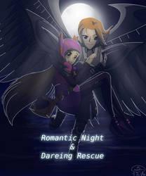 Romantic Night and Daring Rescue - Cover