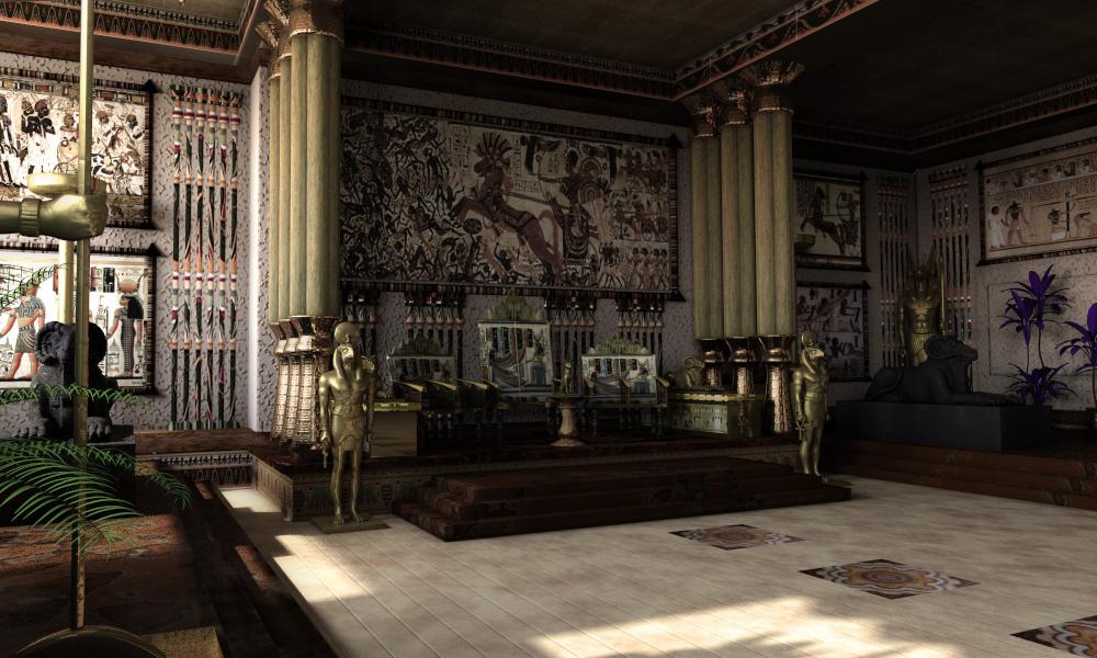 3d egyptian throne room by murtazarizvi86 on deviantart for 3d wallpaper for home egypt