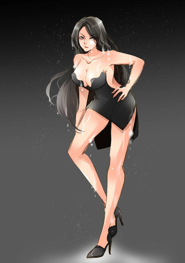 Kat as Lacy Concept Art by zefiar by Pettyexpo