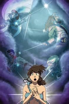 Adventures of Titania Girl: Colors 2-5