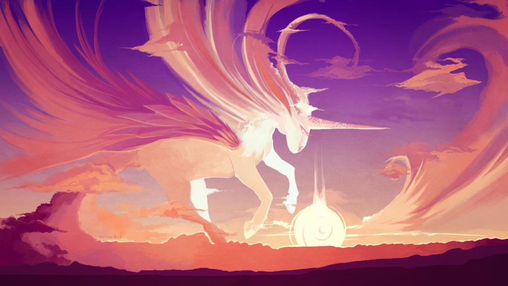 Unicorn - by Yuzuna-wolf