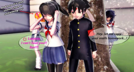 MMD-Yandere Simulator- And that was how it started