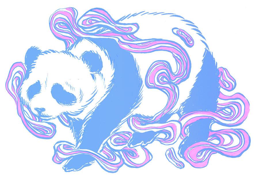Space Panda by unclepatrick