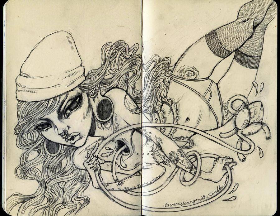 moleskine sketch by unclepatrick