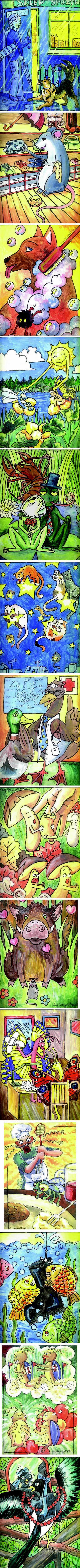 rysuneczki do bajek by Lady-Poltergeist