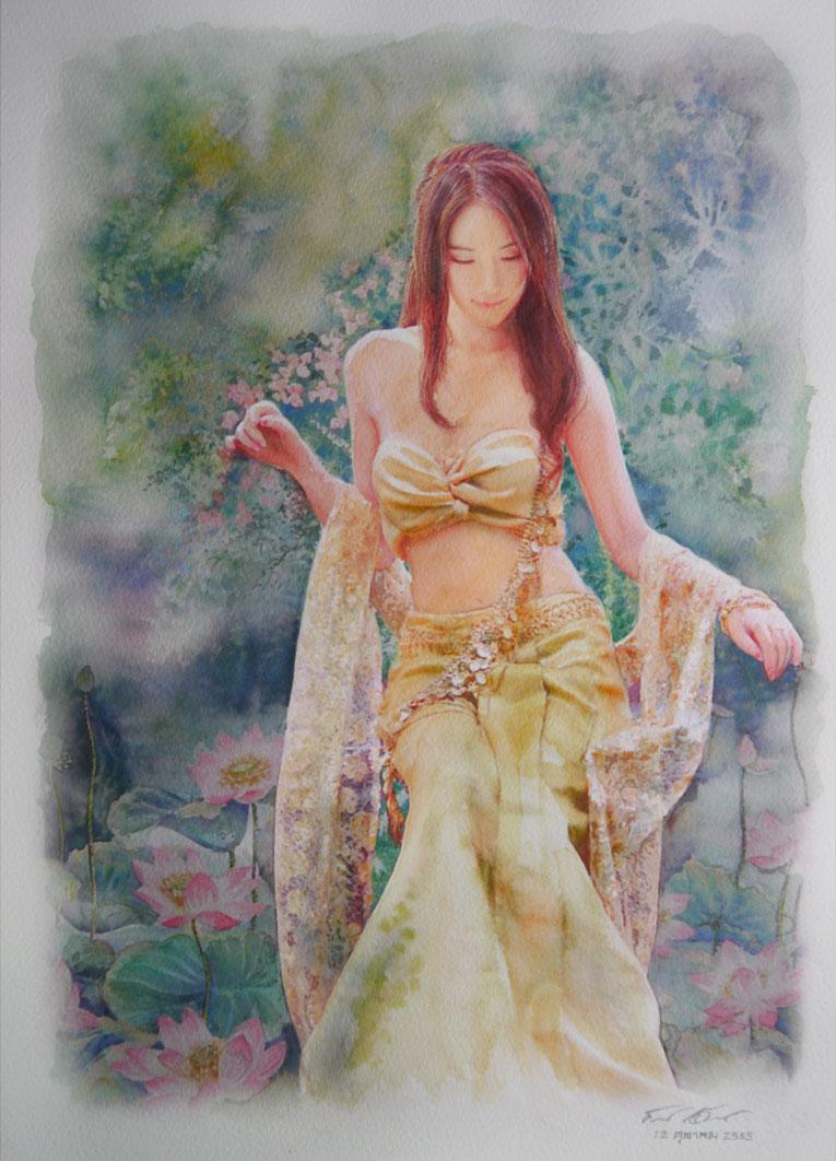Thai Beauty 2 by a-thammasak