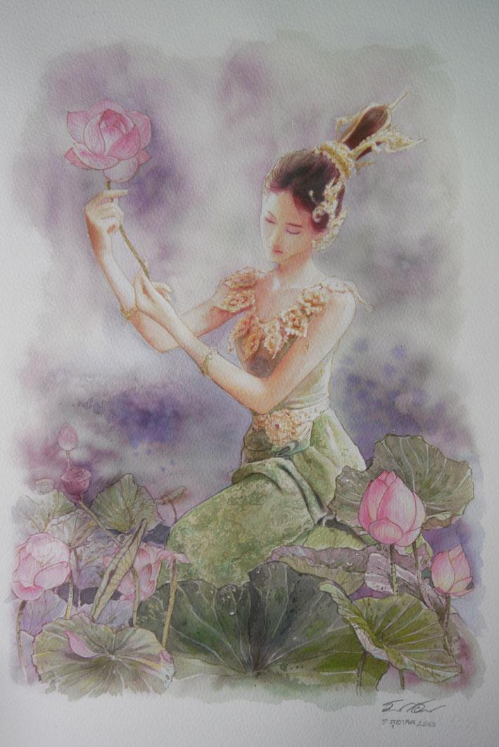 Thai Beauty 1 by a-thammasak