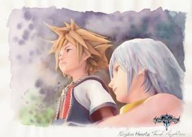 Kingdom Hearts by a-thammasak