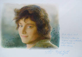 Lord of the Rings Frodo by a-thammasak