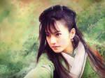 Zhao Wei Sword Girl