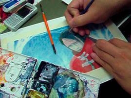 FFVII-Vincent painting