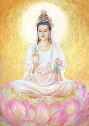 Avalokitesvara-Kuan Yin by a-thammasak