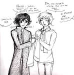 Sherlock and Ivan(fight fight fight fight!)