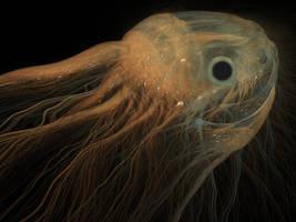 sea creature by grinagog