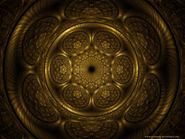 gold shield by grinagog