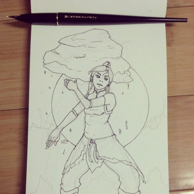 Avatar Korra by shadowGEAR