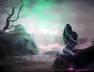 Solemn Siren by LaCroixGrimoire