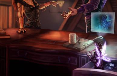 Pixie Spy (Shadowrun) by LaCroixGrimoire