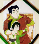 Toph and Bolin - Avatar Series