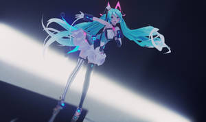MMD - YYB Miku Magical mirai 2019  [model DL]