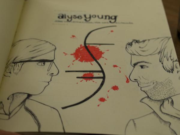 Gabriel vs. Sylar by alupe