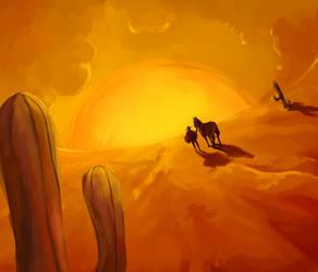 Into the susnet by RamenWarrior