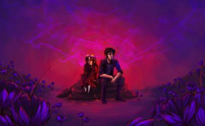 Ava's Demon- Smoke and Flowers by RamenWarrior