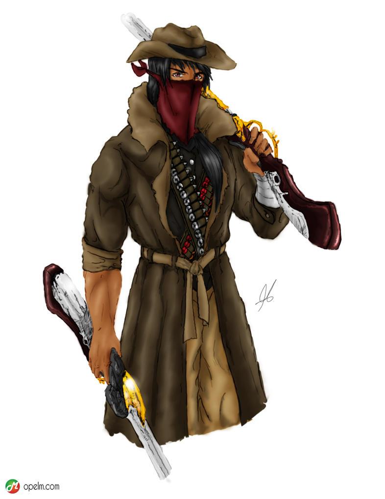 Fantasycollection Gunslinger By Gourmandhast On Deviantart