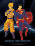 Goku and Superman - Promo Art