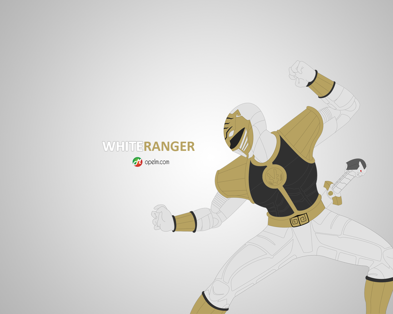 I Am Free Wallpaper White Ranger by Gourma...