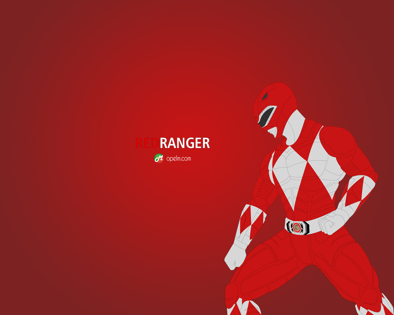 red ranger wallpaper - photo #1