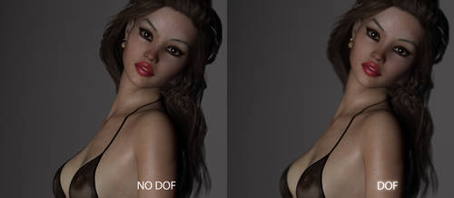 Tutorial - Quick and dirty DOF in Daz iRay