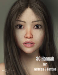 Hannah for Genesis 8 Female by second-circle