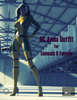 Sc Anna Outfit for Genesis 8 Female